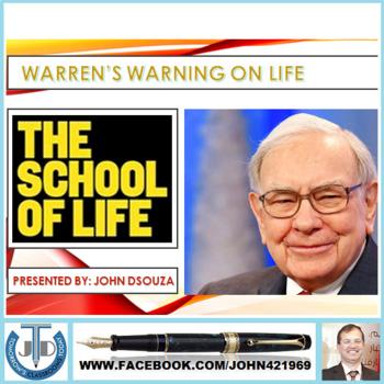 WARREN BUFFETT ON SCHOOL OF LIFE: PRESENTATION