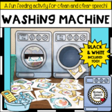 WASHING MACHINE ARTICULATION SPEECH THERAPY  worksheets LOW PREP NO PREP