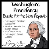 WASHINGTON'S PRESIDENCY in the NEW REPUBLIC BUNDLE with DOODLE NOTES