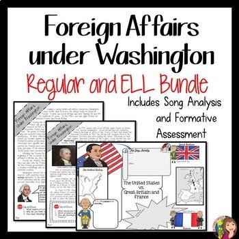 WASHINGTON'S PRESIDENCY Foreign Affairs BUNDLE