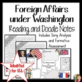 WASHINGTON'S PRESIDENCY Foreign Affairs MODIFIED FOR ELL