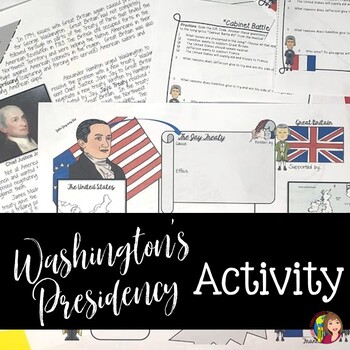 WASHINGTON'S PRESIDENCY Foreign Affairs with Great Britain and France