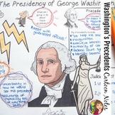 GEORGE WASHINGTON'S PRESIDENCY Reading and Cartoon Notes