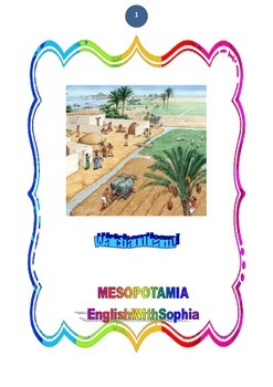 WATCH AND LEARN Mesopotamia, cradle of civilizations  New design !!