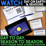 WATCH a Video Day on Earth & Seasons Science Station