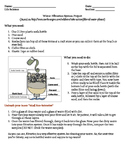 WATER FILTRATION SYSTEM PROJECT – MODELING STORM WATER TREATMENT