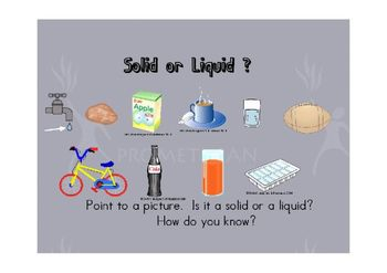 WATER Liquid or Solid Flipchart