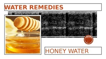 WATER REMEDIES