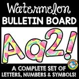 WATERCOLOR CLASSROOM DECOR WATERMELON THEME BULLETIN BOARD