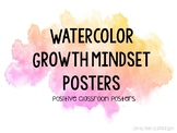 WATERCOLOR Growth Mindset Posters- Volume 2