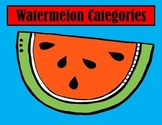 WATERMELON CATEGORIES