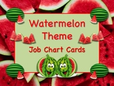 WATERMELON Job Chart Cards/Signs - Great for Classroom Management! Too Cute!!