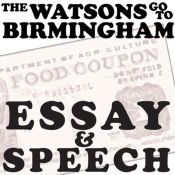 THE WATSONS GO TO BIRMINGHAM Essay Prompts & Grading Rubrics