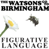 THE WATSONS GO TO BIRMINGHAM Figurative Language (64 quotes)