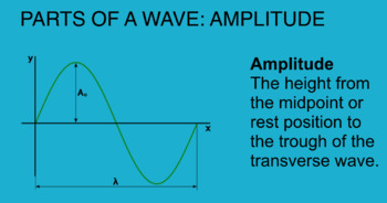 WAVES 4 - Model a transverse wave and amplitude