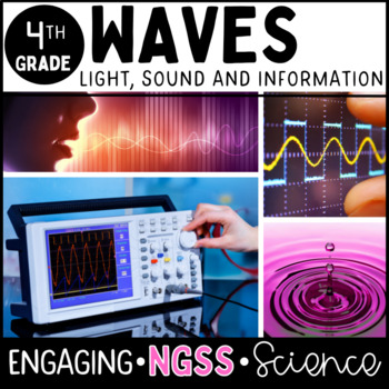 WAVES Fourth Grade Bundle - Complete Unit No Prep **NGSS Aligned**