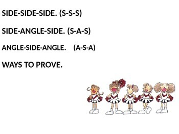 WAYS TO PROVE TRIANGLES CONGRUENT SONG 2