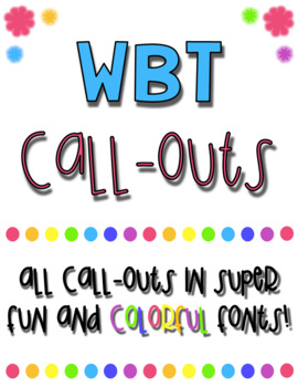 WBT Call-Outs Rainbow Theme