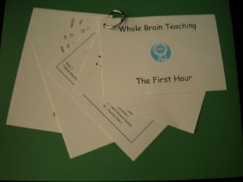 WBT - First Hour Cue Cards - PDF version