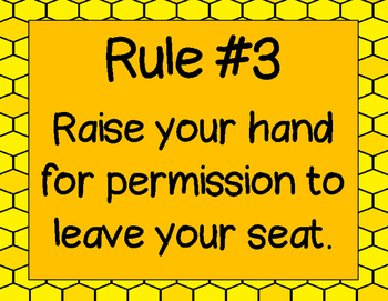 WBT Five Rules Bee Posters