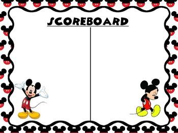 WBT Mickey Scoreboard