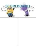 WBT Minion Scoreboard
