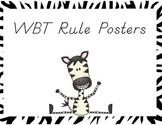 WBT Rule Posters
