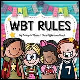 WBT Rules Free (including the Diamond Rule)