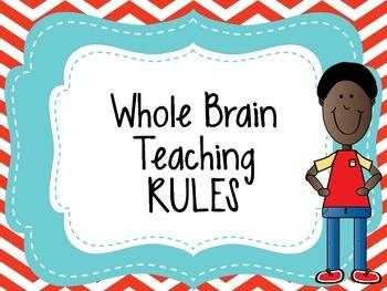 Whole Brain Teaching Rules ( WBT)