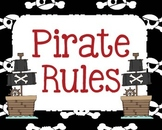 Pirate themed rules