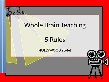 WBT Rules - Posters   HOLLYWOOD style