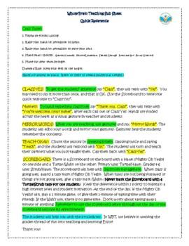WBT Sub Sheet