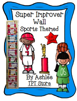 WBT Super Improver Wall Sports Theme