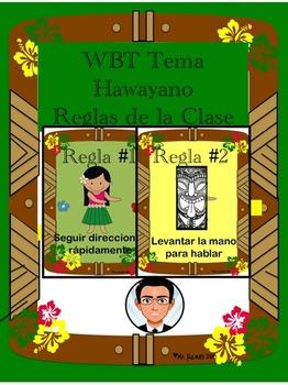WBT Tema Hawayano Reglas de la Clase