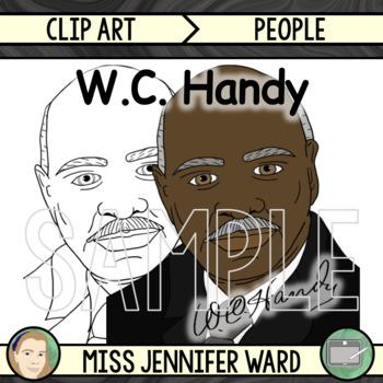 W.C. Handy Clipart