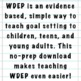 Goal Setting 101: WDEP for Children & Teens