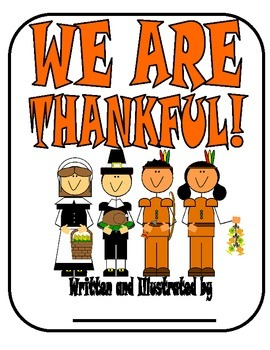 WE ARE THANKFUL- Class book (Thanksgiving)