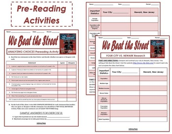 WE BEAT THE STREET Complete Unit Plan (39 PAGES)