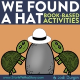 WE FOUND A HAT Activities Worksheets and Interactive Read