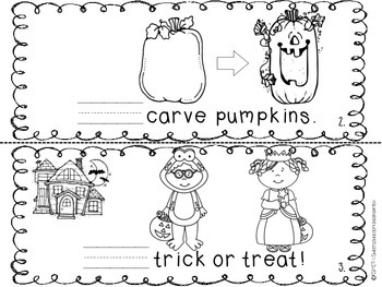 WE Love Halloween- Emergent Reader