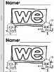 WE Silly Sight Word Reader {Free Sample Freview}