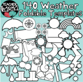 WEATHER: 140 Foldables, Interactives, Flip Book Templates