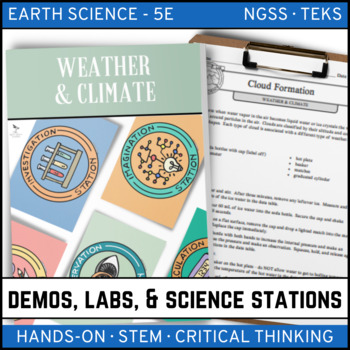 WEATHER AND CLIMATE - Demo, Labs and Science Stations