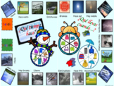 WEATHER AND CLOTHES GAME JUEGO TIEMPO Y ROPA SPANISH INCLUDES FLASHCARDS