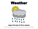 WEATHER Adapted Velcro BOOK, SPEECH THERAPY, Early Intervention, Birth-3