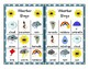 WEATHER BINGO CLASSROOM SET 30 BOARDS WITH CALLING CARDS AND MARKERS