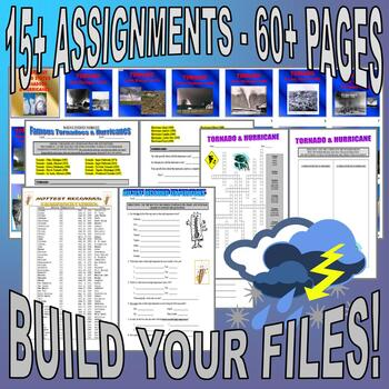 WEATHER Bundle Collection #1 (10+ Assignments / 40+ Pages)