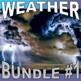 WEATHER Bundle Collection #1 (10+ Assignments / 50+ Pages) - Sub Plans / No Prep
