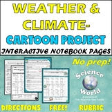 WEATHER, CLIMATE, & ATMOSPHERE PROJECT PRINTABLE