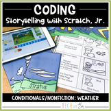 CODING: WEATHER CLOUDS AND INTERACTIVE STORYTELLING
